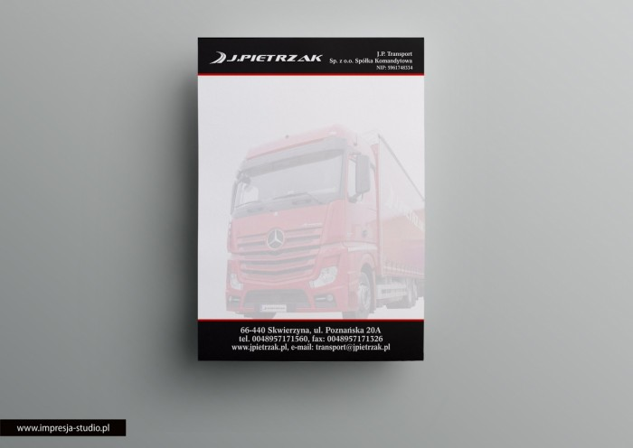 "Notes ""J. Pietrzak Transport"""