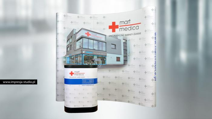 "Ścianka POP-UP ""Mart Medica"""